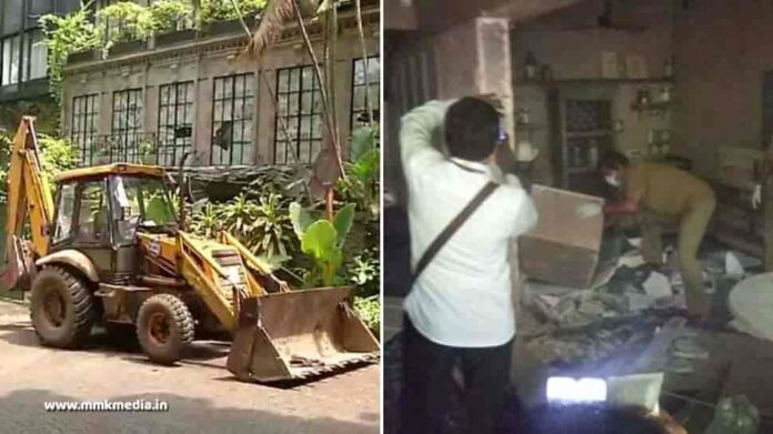 BMC demolishes Kangana Ranaut Office